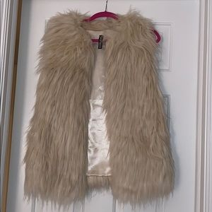 Design Lab Faux Fur vest